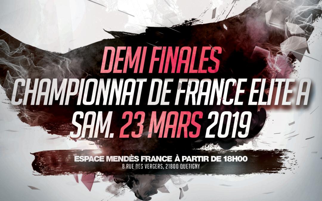 Demi finales du Championnat de France Élite A